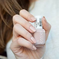 close your eyes. when you give this flirty, semi-sheer nude a whirl, be prepared to pucker-up. essie 'spin the bottle'.