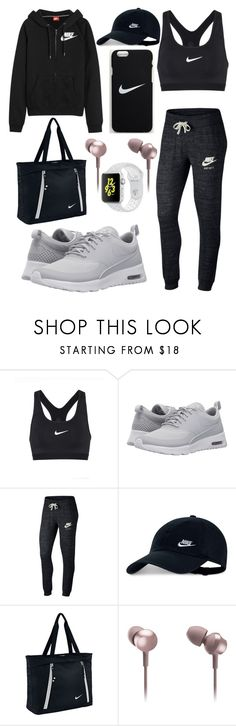 """Nike"" by deehat ❤ liked on Polyvore featuring NIKE and Panasonic"