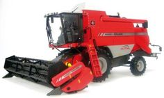 Massey Ferguson Activa 7245 Combine - Tractors - Big machines - Die-cast | Hobbyland Scale model аgricultural machinery made of metal / Die-cast / in 1:32 scale manufactured by Universal Hobbies.