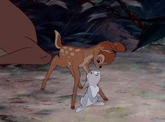 Bambi and Thumper, Disney Disney Magic, Disney Pixar, Walt Disney, Disney Animation, Disney Amor, Cute Disney, Disney And Dreamworks, Disney Cartoons, Disney Movies