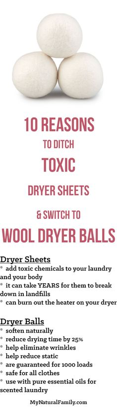 I first learned about wool dryer balls when I started using essential oils. They seem like a no-brainer. They save you a lot of money over time since you don't have to buy disposable fabric sheets, they are MUCH better on the environment and they actually work. So I made my own. It took meContinue