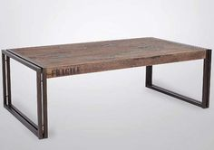 IRON AND WOOD FURNITURE | Tables | Benches | TV Cabinets | Racks
