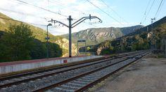 Paisaje ruta del estrecho de Covas Railroad Tracks, Paths, Scenery, Fotografia, Train Tracks