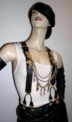 gaultier suspenders