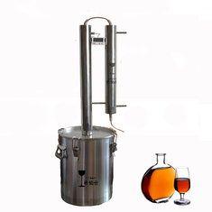 Only US$246.66 , shop 304 Stainless Steel Home Brew Alcohol Wine Distiller Moonshine Still Brandy Wine Spirit Distiller at Banggood.com. Buy fashion Home Brewing & Wine Making online.