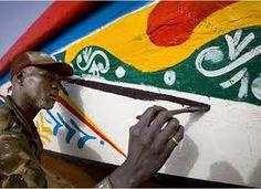 Painting boat / Sénégal