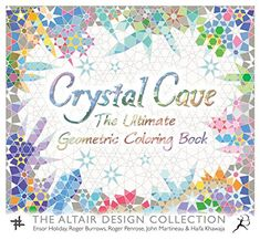 Crystal Cave: The Ultimate Geometric Coloring Book (Wooden Books) by Ensor Holiday http://www.amazon.com/dp/1632866277/ref=cm_sw_r_pi_dp_3Fqqwb02N0HBM