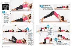 Cindy Crawford workout.
