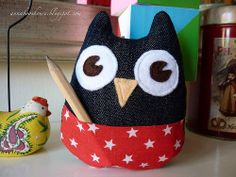 My Owl Barn: DIY: Pocket Owl LOVE IT!!