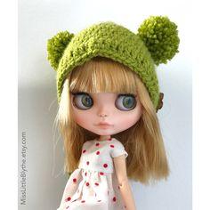 Un preferito personale dal mio negozio Etsy https://www.etsy.com/it/listing/506912158/crochet-hat-for-blythe-doll-gorrito-para
