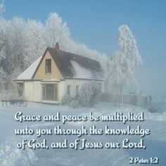 from Sheltering Wings of Grace at facebook.com Grace, peace multiplied through knowledge of Jesus