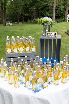 Limoncello Wedding favors Wedding 2015, Our Wedding, Limoncello, Falling In Love, Wedding Favors, Shower, Table Decorations, Home Decor, Wedding Keepsakes