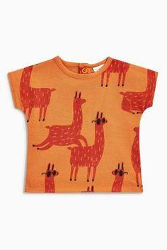 Orange Llama T-Shirt Source by eurim T-Shirts Cute Outfits For Kids, Cute Kids, Boy Outfits, Baby Kids, Baby Boy, Personalized T Shirts, Kids Prints, Boys T Shirts, Buy Shirts