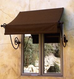 Pergola Kits Home Depot Diy Awning, Fabric Awning, Awning Patio, Patio Decks, Fabric Panels, Window Coverings, Window Treatments, House Awnings, Canvas Awnings