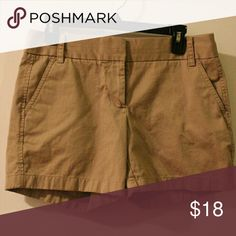 Selling this J. Crew Chino Shorts on Poshmark! My username is: boatfulofmoxie. #shopmycloset #poshmark #fashion #shopping #style #forsale #J. Crew #Pants