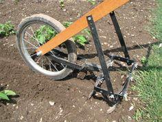 Homemade tiller | American Garden Tools >EZ-Till Garden Cultivator #gardentiller