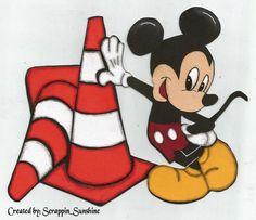Disney Mickey Cars Land Test Track Premade Scrapbook Page Paper Piece Ssffdeb | eBay