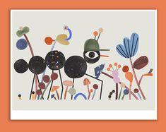 Follow me Giclée print 40 x 30 cm   Etsy