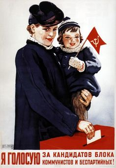 I vote for the communistic candidates and the non-party men ! 1947