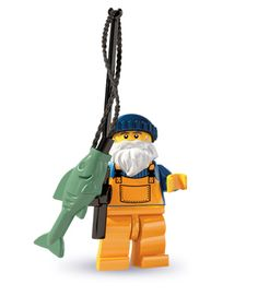 Fisherman Series 3 All Minifigure packets will be opened to guarantee the correct Minifigure – Comes complete with opened packets leaflet and accessories