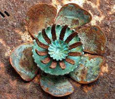 """rusty """"flower"""""""