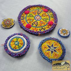 Vintage Tribal Talisman  Kuchi Beaded Remnant by AfghanTribalArts, $50.00