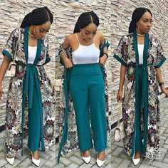 for Fashionable Ladies…Beautiful Aso Ebi Lace S… – Best Women Fashion images in 2019 Latest African Fashion Dresses, African Dresses For Women, African Print Fashion, African Attire, African Wear, Ankara Fashion, Kimono Outfit, Kimono Fashion, Fashion Pants