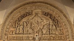 Vezelay - La Madeleine - Narthex Tympanum - Christ in Majesty