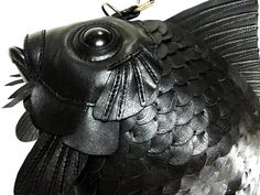 There's a lot of fish in the sea of accessories but not as elegant as these produced by Atelier Iwakiri. Japanese designer takes the beloved goldfish and puts a luxurious twist on it by creating an outstanding handmade bag.