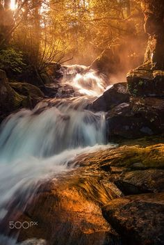 Light flow at Sunset by Carlos Rojas on 500px