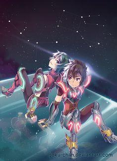Seiya y Shun
