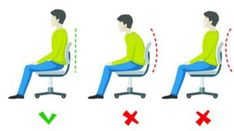It's alarming when you think about it that people do not know how to take seating precautions in the office when working long hours at a desk. In this guide, we will help you choose the right office chair for working at or just using casually. #goodposture #officechairs #backpain #ergonomic