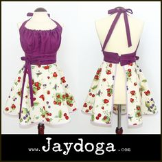Jaydoga, delantales vintage, elegantes y originales!