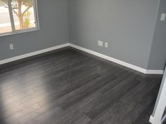 Dark Wood Floors Ideas Designing Your Home Dark Wood Floors - Design photos, ideas and inspiration. Dark Wood Floors Ideas Designing Your Home Dark Wood Floors - Design photos, ideas and inspiration. Wood Floor Design, House Design, Grey Walls, Flooring, Home Remodeling, New Homes, House Flooring, Floor Design, Design Your Home