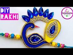 DIY Rakhi making at home Handmade Rakhi Designs, Handmade Design, Easy Diy Crafts, Crafts For Kids, Arts And Crafts, Diy Gifts Paper, Paper Crafts, Competitions For Kids, Flip Flop Craft