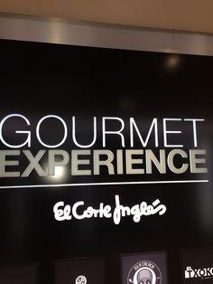 Gourmet experience @elcorteingles