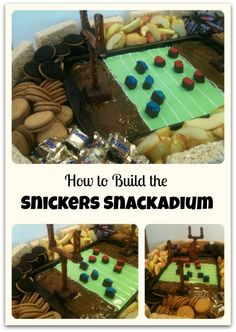 How to build the Snickers Snackadium