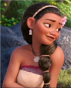 Moana's Mother, Sina the wife of Chief Tui