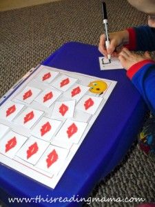 Reading the Alphabet~ Letter K/ Sight Word ME {Lesson 16}   This Reading Mama