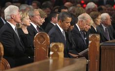 BILL CLINTON Mandela Funeral PICTURES PHOTOS and IMAGES