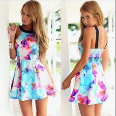 Sexy Summer New Woman Dress..
