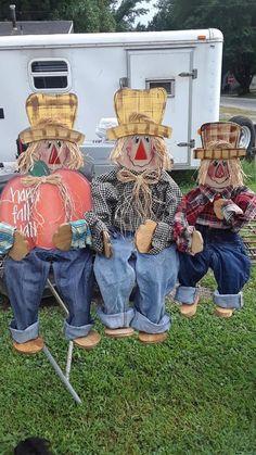 Diy Scarecrow, Fall Scarecrows, Scarecrow Painting, Scarecrow Face, Fall Halloween, Halloween Crafts, Vintage Halloween, Happy Halloween, Halloween Party