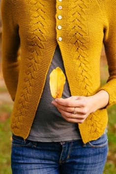 ...sweater in mustard, love this color for Fall
