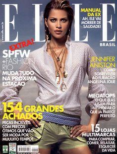 ELLE BRAZIL FEBRUARY, 2006 COVER WITH- ANA BEATRIZ BARROS