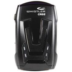 WHISTLER CR88 LASER/RADAR DETECTOR - 360° Maxx coverage w/ Total Band Protection #Whistler