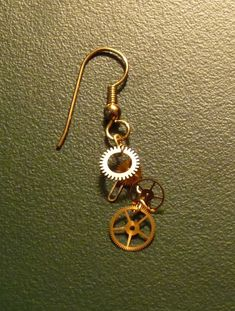 LETA1  YOU SHOULD MAKE THESE!  Gearrings:  Steampunk Earrings Tutorial