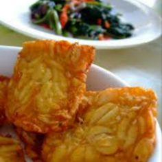 Tempe Goreng, indonesian food #Indonesian recipes #Indonesian cuisine #Asian recipes http://indostyles.com/