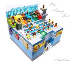 "https://flic.kr/p/vcBGee | Public Swimming Pools | Do you feel ""cool""? More Photos: <a href=""http://lego.alanstudio.hk/moc-SwimmingPools.htm"" rel=""nofollow"">lego.alanstudio.hk/moc-SwimmingPools.htm</a>"