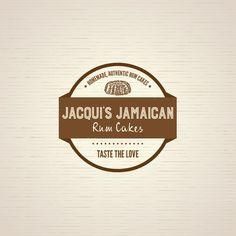 Jacqui's Jamaican Rum Cakes - Logo and web page design needed to launch our Gourmet Cakes!