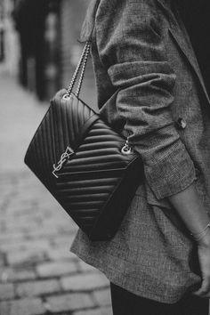 Saint Laurent Purse, Yves Saint Laurent, Ysl Handbags, London Shopping, Checked Blazer, Trends, Luxury Bags, Chanel Boy Bag, Designer Bags